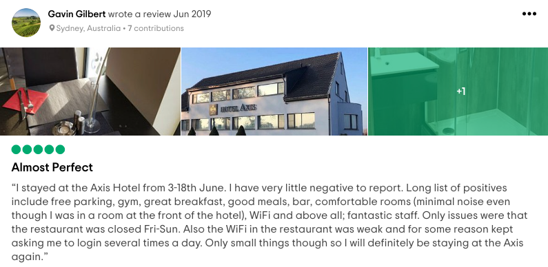 02_HotelAxisBelgium_Reviews